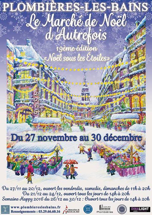 Marché De Noël De Plombières